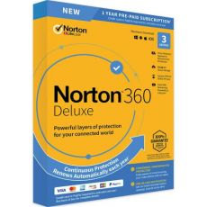 Norton 360 Deluxe, Runtime: 1 Year, Device: 1 Device, image